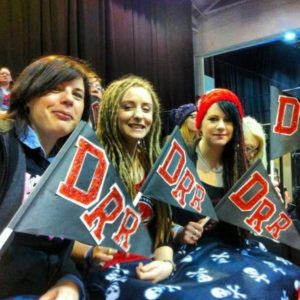 Drew supporting DRR