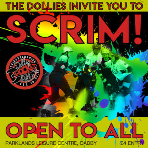 Open to All Dolly Scrim