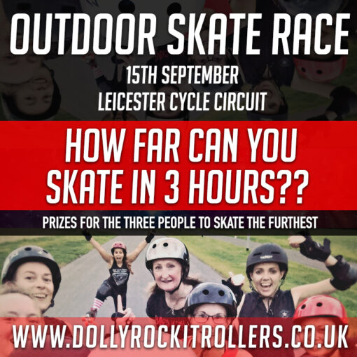 Outdoor Skate Race