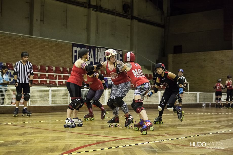 LDRR vs Porto Roller Girls